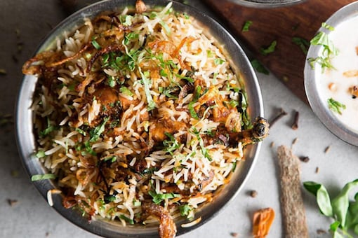 East or West, biryani is the best   Image for representation.
