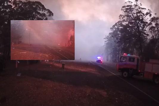 Australian bushfires | Dunmore Rural Fire Brigade / Facebook.
