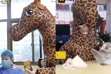 Chinese Woman Visits Hospital Dressed up as Giraffe, Thanks to Mask Shortage Amid Coronavirus Outbreak