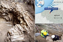 Archaeologists Discover Walls of Human Bones and Skulls Under Belgium's Saint-Bavo's Cathedral