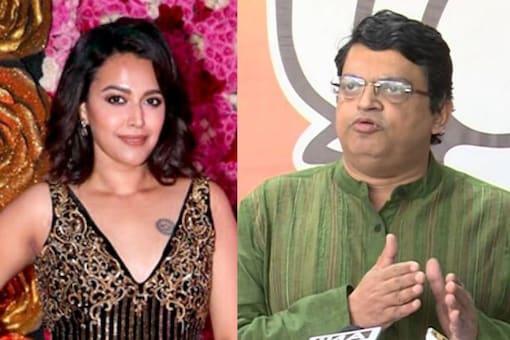 Swara Bhasker Slams BJP Spokesperson Who Likened Woman to Dog, He Calls Himself 'True Hindu'