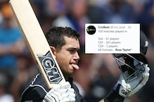 'GOAT': Fans Cheer on as Ross Taylor Becomes First Cricketer to Play 100 Games in All Three Formats