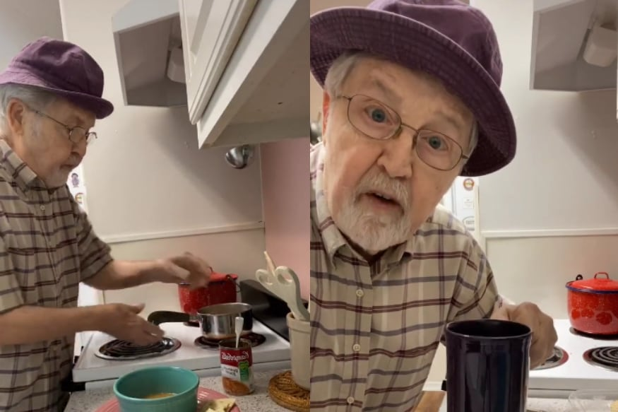 How 81-Year-Old TikTok Star Became Internet's Favourite Grandpa With Quirky Cooking Videos