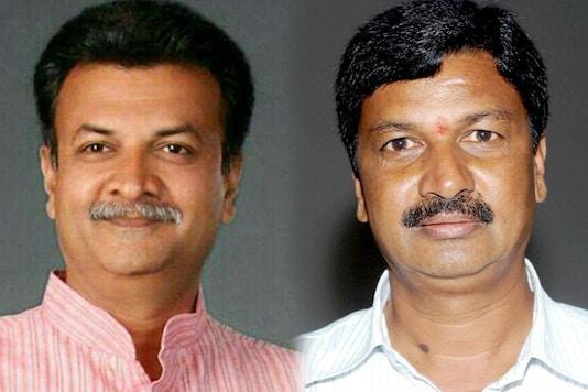 File photos of BJP MlA Mahesh Kumatahalli and Karnataka Minister Ramesh Jarkiholi.