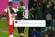 WATCH: Football Fans Unite Against Racial Abuse Towards Leroy Kwadwo, Chant 'Nazis out'