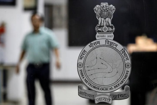 A logo of India Meteorological Department . (Reuters)