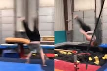 Watch: This 38-year-old Woman Doing Back-Flip and Cartwheel is Breaking the Internet