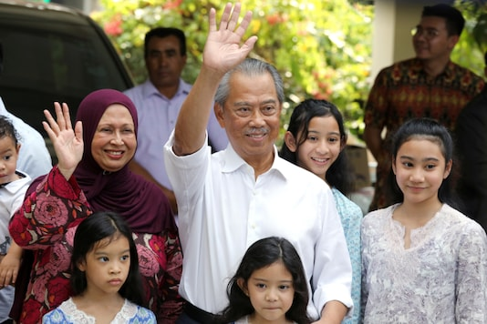 Malaysia's Prime Minister Designate and former interior minister Muhyiddin Yassin. (Reuters)