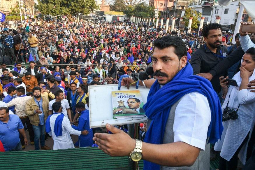 Bhim Armys Chandrashekhar Azad Denied Police Permission for Rally in Mumbai on Feb