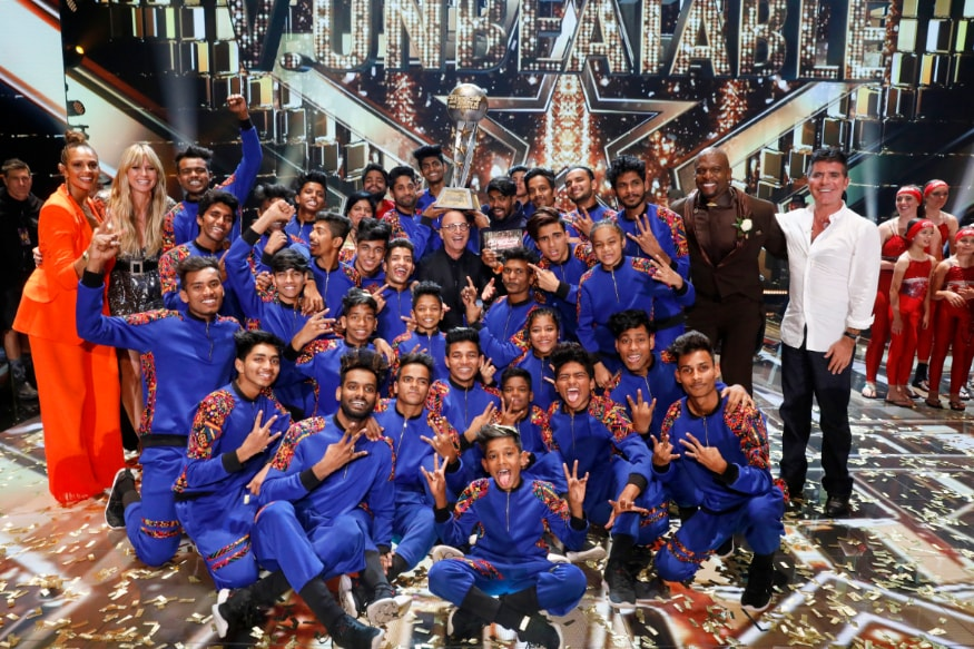 Indian Dance Crew V Unbeatable Wins America's Got Talent The Champions