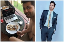 Varun Dhawan Celebrates Coolie No 1 Wrap with Pancakes and a Shirtless Selfie