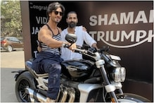 Vidyut Jammwal Gets a New Motorcycle from Manager