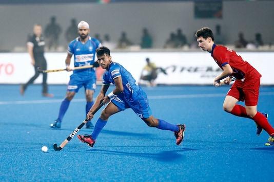 Vivek Sagar Prasad (Photo Credit: Hockey India)