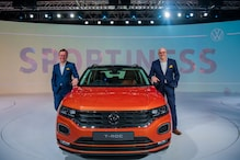 Auto Expo 2020: Volkswagen T-Roc Mid-Size SUV Unveiled in India