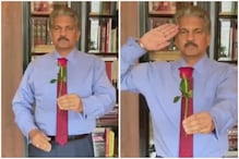 Anand Mahindra Salutes Pulwama Martyrs on Valentine's Day with a Rose