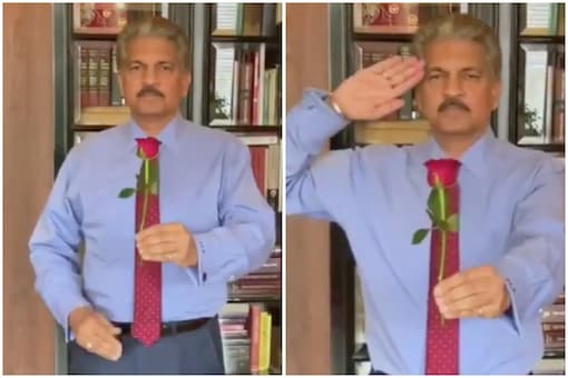 Mahindra CEO Anand Mahindra had a special message this Valentine's Day | Image credit: Twitter