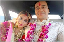 Yeh Hai Mohabbatein Fame Anurag Sharma's Newly-wed Bride Trips While Dancing on Her Wedding Day