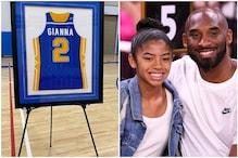 School Retires Kobe's Daughter Gianna's No.2 Basketball Jersey in Emotional Tribute