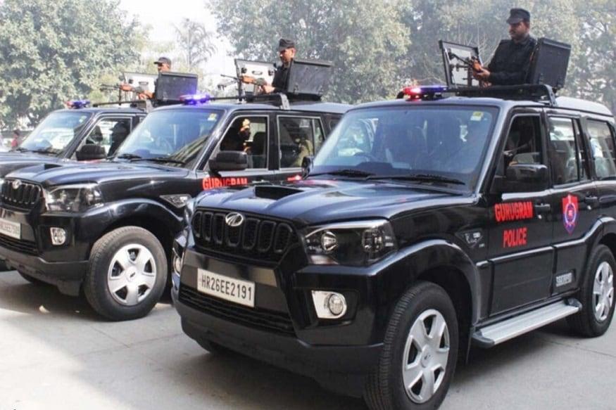 DLF Gifts Three Customized Mahindra Scorpio SUVs with LMG to Gurugram Police