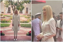 Melania Trump Sticks to American Designer as Ivanka Trump Wears Silk Sherwani By Anita Dongre