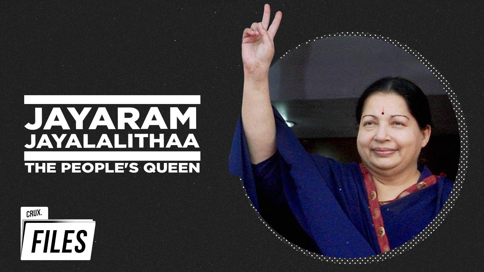 Jayalalithaa: Leading Lady, Legendary Leader | Rare Interviews | Crux