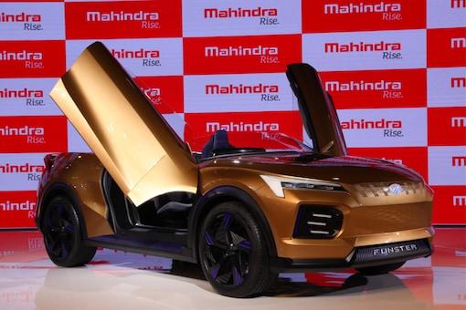 The Mahindra Funster EV Concept at the Auto Expo 2020 (Image: Mahindra and Mahindra)