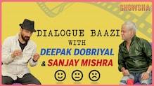 Sanjay Mishra and Deepak Dobriyal play a game of Dialogue Baazi | Showsha