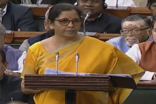 Finance Minister Nirmala Sitharaman presents Budget 2020.