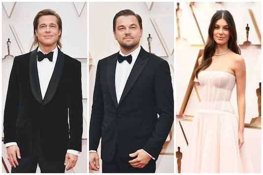 In Pics: Brad Pitt Wins Best Supporting Actor Oscar, Leonardo DiCaprio Attends Academy Awards with Girlfriend