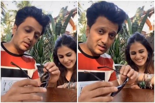 Riteish Deshmukh and Genelia D'Souza Share Hilarious Video on Wedding Anniversary