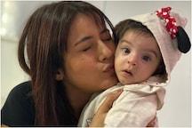 Bigg Boss 13 Finalist Shehnaaz Gill Visits Jay Bhanushali and Mahhi Vij's Baby Daughter Tara, See Pic