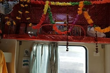 Coach in Kashi Mahakal Express Turns Into Mini Temple as Rly Officials Reserve Seat for Lord Shiva