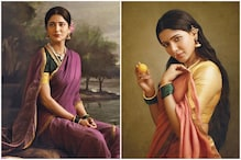 Shruti Haasan, Samantha Akkineni Bring to Life Iconic Raja Ravi Varma Paintings for Charity, See Pics