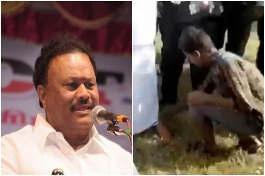 Tribal Boy Made to Kneel and Remove Tamil Nadu Ministers Slipper Files Complaint against