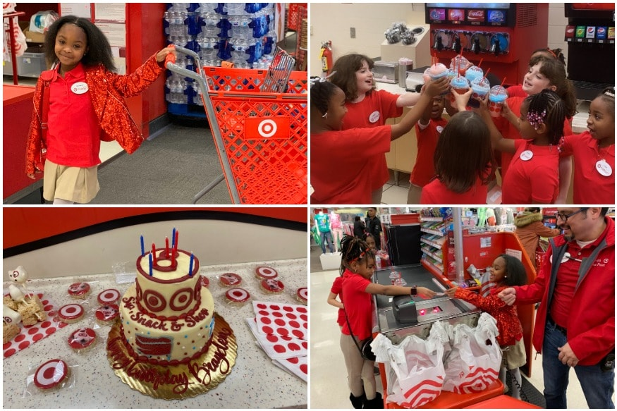Awesome Atlanta Girl Obsessed With Target Celebrates 8Th Birthday As Funny Birthday Cards Online Alyptdamsfinfo