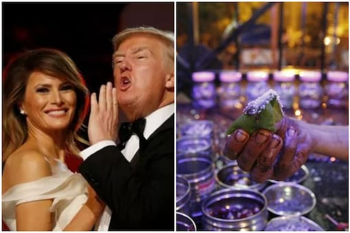 Donald and Melania Trump will be visiting India on 24 and 25   Image credit: Reuters