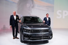 Auto Expo 2020: Volkswagen Tiguan Allspace SUV Unveiled in India