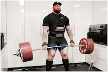 GoT's 'The Mountain' Sets World Deadlift Record by Lifting 501 KGs