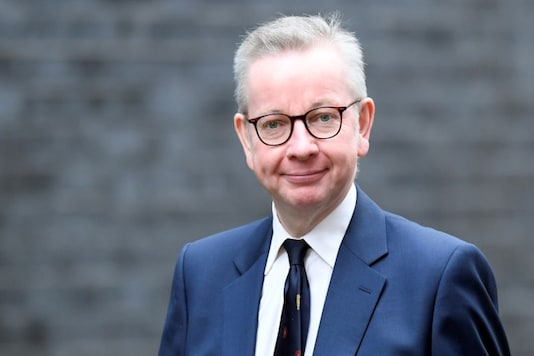 Michael Gove arrives at Downing Street in London, Britain February 13, 2020. REUTERS/Toby Melville/Files