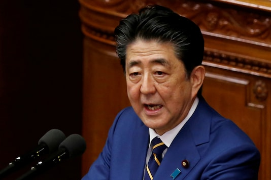 File photo of Japan Prime Minister Shinzo Abe.