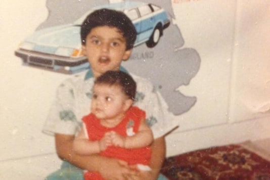 Arjun Kapoor Posts Throwback Pic with Anshula, Says 'Isolating Together Since 1990'
