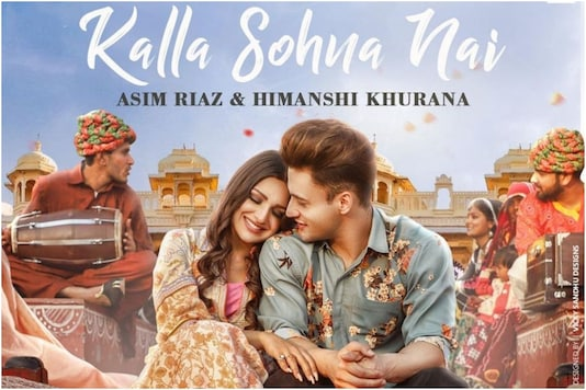 Asim Riaz, Himanshi Khurana's First Look from Their New Song Kalla Sohna Nai Released