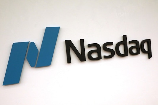 The Nasdaq logo is displayed at the Nasdaq Market site in New York, US, May 2, 2019. (Image: REUTERS)