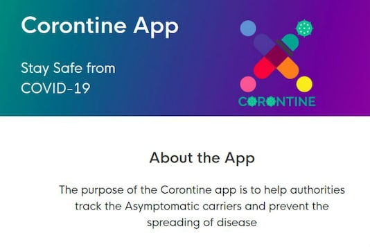 Corontine Platform by IIT Profs to Help Govt, Private Firms Build COVID-19 Trackers