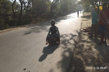 Faced with Lockdown, Disabled Man Covers 100km on Hand Cart to Reach Home in Jaunpur