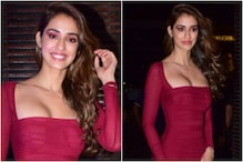 Disha Patani's Red Bodycon Dress is a Party Must-have
