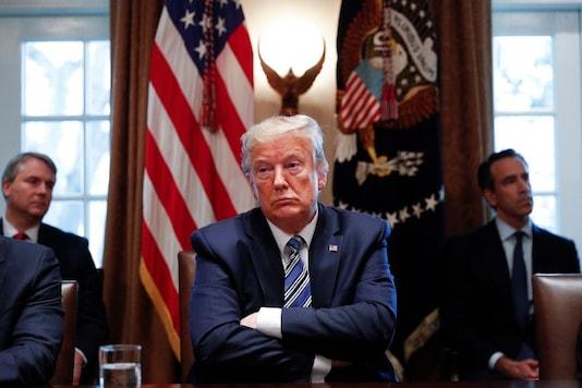 US President Donald Trump. (Reuters Image)