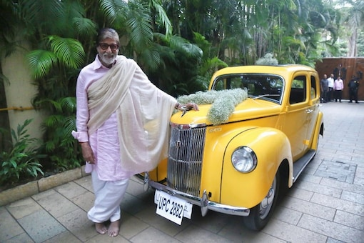 Amitabh Bachchan Adds A Vintage Car To His Collection, Calls It 'Gesture Beyond Time'