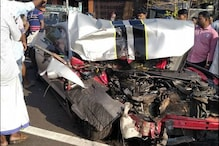 WATCH: Ford Mustang Crash Into a Truck in Kerala, Driver Survives [Video]