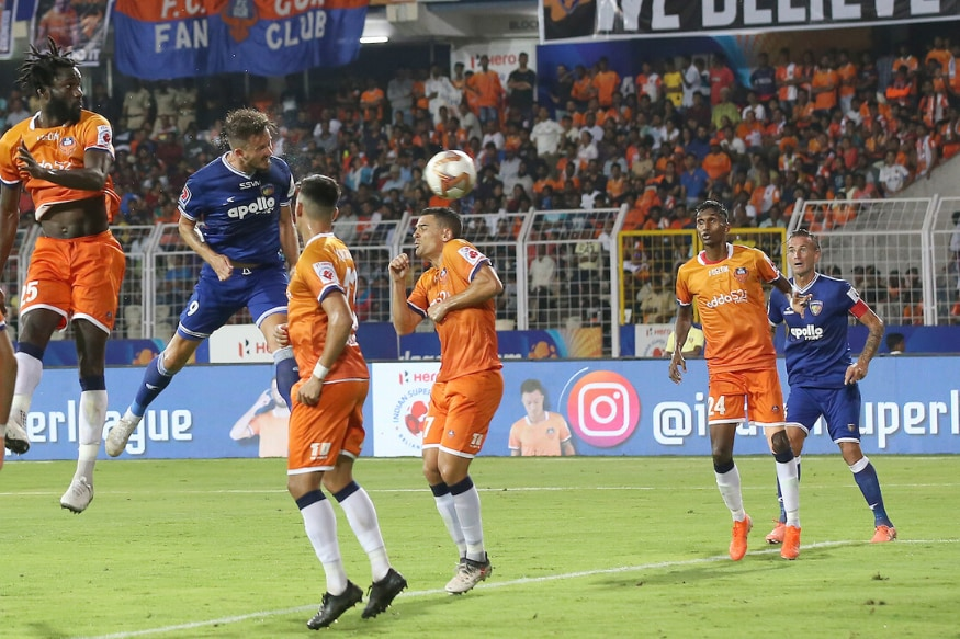 ISL 2019-20 LIVE Score, FC Goa vs Chennaiyin FC Semi-final: Chennaiyin Through to Final Beating Goa on Aggregate thumbnail